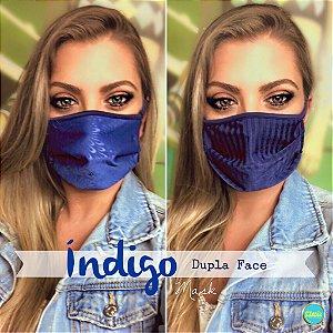 Máscara Dupla Face Índigo