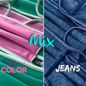 Mix - Color Dupla Face + Jeans