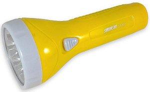 Lanterna Recarregável Com 7 Leds e Bateria de Longa Duração