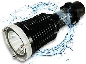Lanterna de Mergulho 800.000 Lumens 288.000w Com LED T6 À Prova D'água