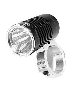 Lanterna Farol Para Bicicleta Super Potente e Compacta LED T6 L2 Pack Bateria Recarregável
