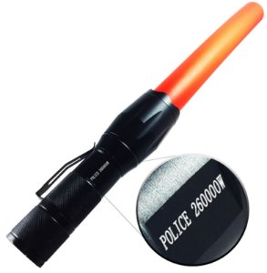 Lanterna Tática Police Com Sinalizador Profissional 710.000 Lumens Led T6 Super Compacta e Potente