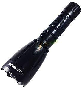 Lanterna Tatica 810.000 Lumens Police LED T6 Super Potente e Robusta Ideal Para Uso Militar