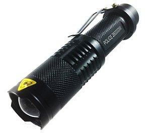 Lanterna Police Tática 1.710.000 Lumens LED Cree XML T6 Bateria 18650 Recarregável Super