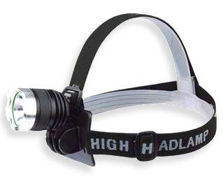 Lanterna de Cabeça Profissional Com Led T6 720.000 Lumens Super Potente Police