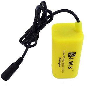 Bateria 8.4V Para Farol de Bike e Lanterna de Bicicleta à Prova D'água