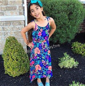 Vestido - Maxi Floras - Kids