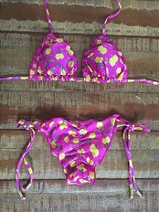 Biquini - Ripple - Limão Pink