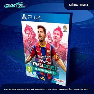 eFootball PES 2021 Ps4 Mídia Digital (secundária)