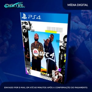 EA UFC 4 Standard Edition Ps4 Mídia Digital (secundária)