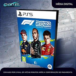 F1 2021 PS5 Mídia Digital