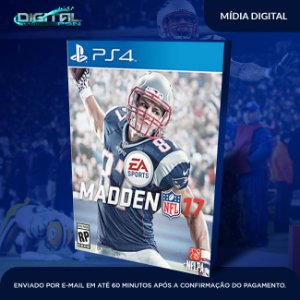 Madden NFL 17 Mídia Digital PS4