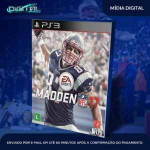 Madden NFL 17 Mídia Digital PS3