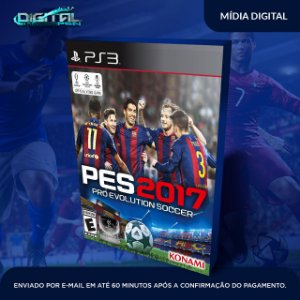 Pro Evolution Soccer 2017 Pes 17 Ps3 - Mídia Digital