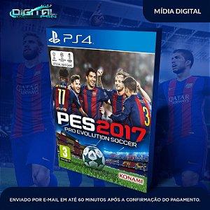 PES 2017 PS4 Mídia Digital
