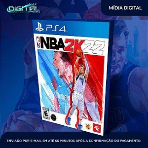 NBA 2K22 PS4 Mídia Digital