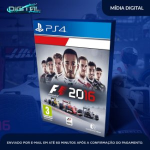 Formula 1 2016 F1 16 Ps4 - Digital