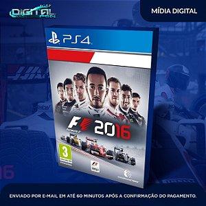 F1 2016 PS4 Mídia Digital