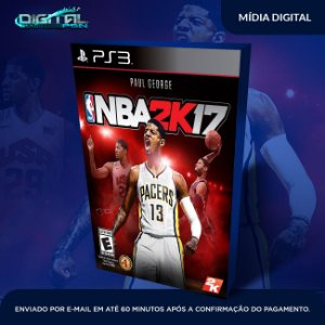 Nba 2k17 Ps3 - Mídia Digital