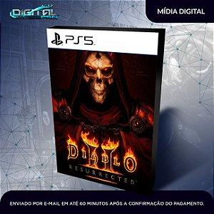 Diablo 2 Resurrected PS5 Mídia Digital