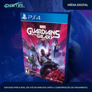 Guardiões da Galáxia PS4 Mídia Digital