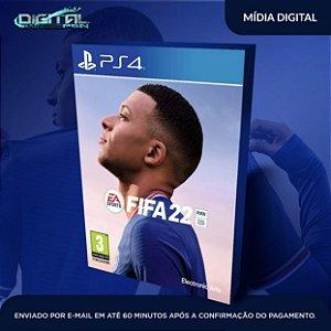FIFA 22 PS4 Mídia Digital - SECUNDARIA