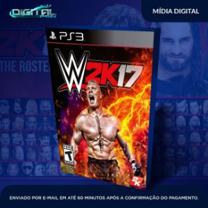 WWE 2K17 PS3 Mídia Digital