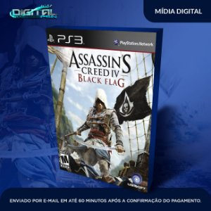 Assassin's Creed Iv Black Flag - PS3  Game Digital