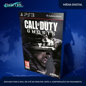Call Of Duty Ghosts  Ps3 Mídia Digital