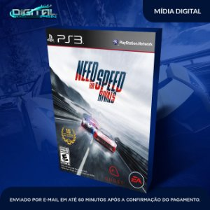 Need For Speed Rivals Ps3 Mídia Digital