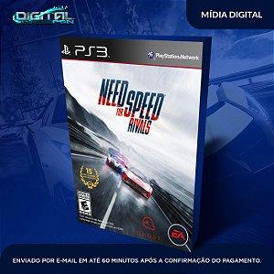 Need For Speed Rivals PS3 Mídia Digital