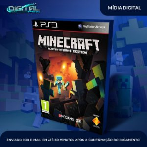 Minecraft Ps3 Edition Mídia Digital