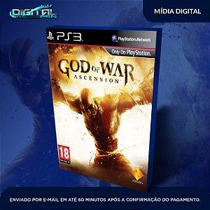 God Of War Ascension Ps3 Mídia Digital