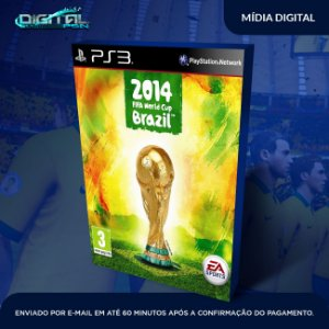 Fifa World Cup Brazil 2014 Ps3 Mídia Digital