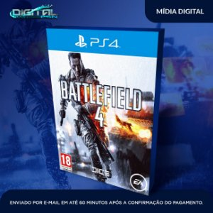 Battlefield IV Bf4 ps4 Mídia Digital