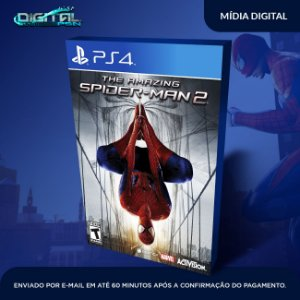 The Amazing Spider-Man 2 Ps4 Mídia Digital