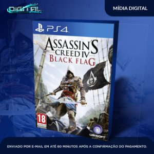 Assassin's Creed Iv Black Flag - PS4  Game Digital