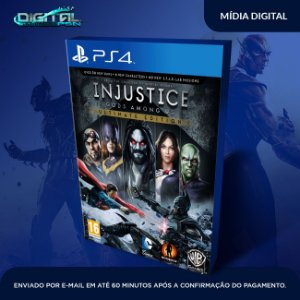 Injustice Gods Among Us Ps4 Mídia Digital