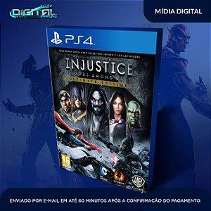Injustice Gods Among Us PS4 Mídia Digital