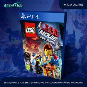 Lego The Movie Ps4 Mídia Digital