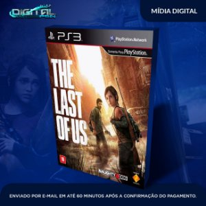The Last Of Us Ps3 Mídia Digital