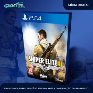 Sniper Elite 3 Ps4 Mídia Digital