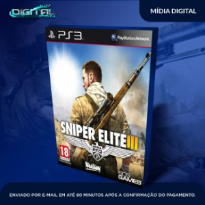 Sniper Elite 3 Ps3 Mídia Digital