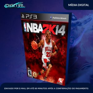 NBA 2K14 Ps3 Mídia Digital