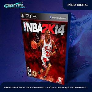 NBA 2K14 PS3 Mídia Digital