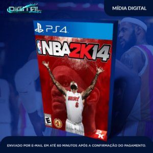 NBA 2K14 Ps4 Mídia Digital