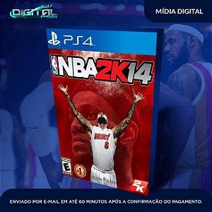 NBA 2K14 PS4 Mídia Digital