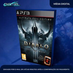 Diablo III: Reaper of Souls - Ultimate Evil Edition Ps3 Mídia Digital