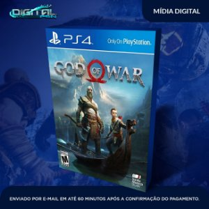 God Of War Ps4 - Mídia Digital
