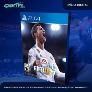 FIFA 18 2018 PS4 PT-BR - Game Digital